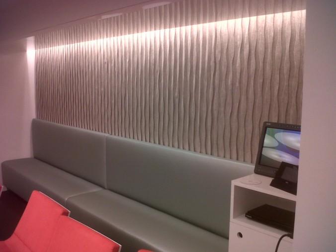 C3 Design | BBC America | Felt Wall Installation